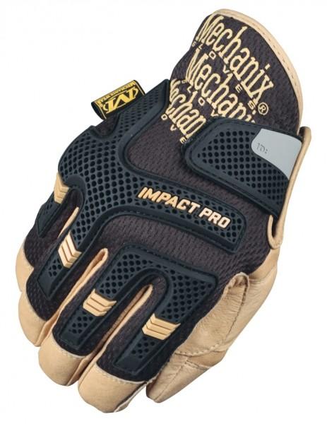 Mechanix CG Impact Pro Handschuh Schwarz/Khaki