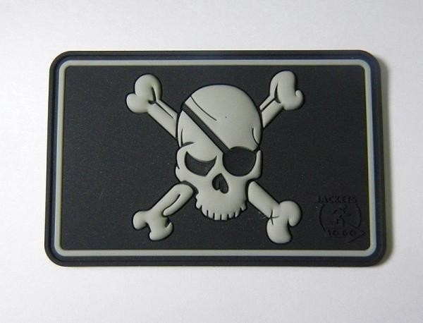 Pirate Skull Patch