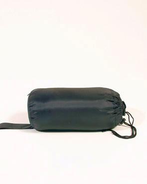 Schlafsack COMMANDO m. Packsack, schwarz