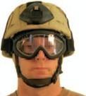BLACKHAWK! Hellstorm Tactical Goggles Staubschutzbrille