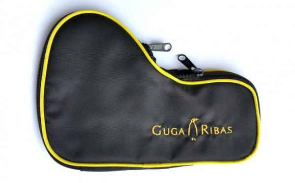 Guga Ribas Gun Cover SMALL BLACK-YELLOW LEFT HAND