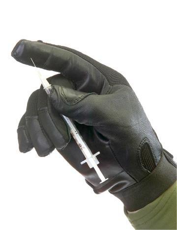 MLE Duty Glove Durchsuchungshandschuh mit Stichschutz