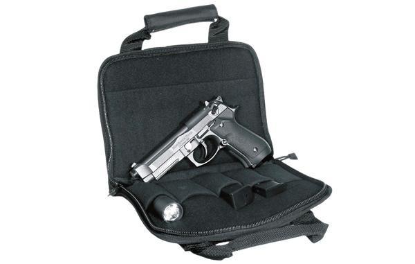 UTG Deluxe Pistolentasche einfach, Schwarz