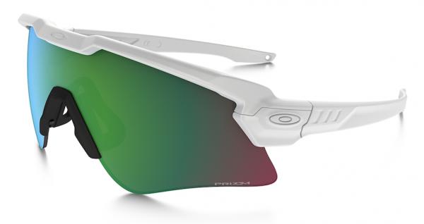 Oakley SI BALLISTIC M-FRAME ALPHA WHITE / PRIZM JADE Schutz- & Schießbrille