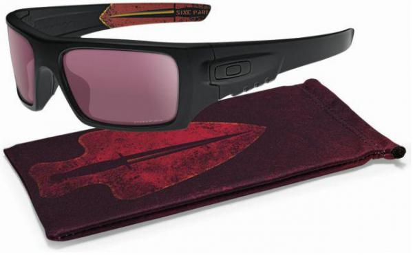 Oakley SI BALLISTIC DET CORD DAGGER MATTE BLACK / TR22 BLACK IRIDIUM Schutz- & Schießbrille