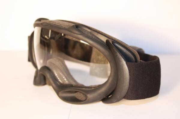 0204edaa06 Oakley ASSAULT A-FRAME FAN GOGGLE BLACK   CLEAR Brille