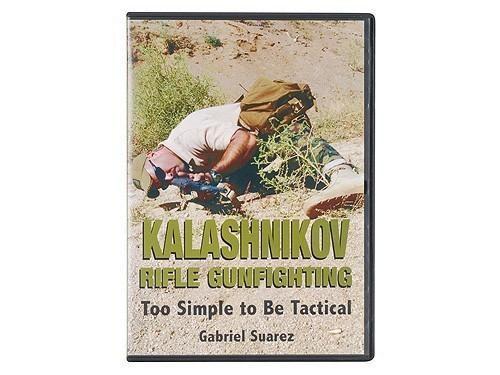 """Kalashnikov Rifle Gunfighting: Too Simple to Be Tactical"" DVD w"