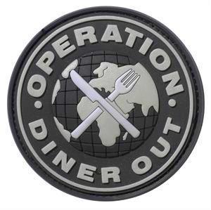 JTG Operation Diner Out Patch Atlas Taktik