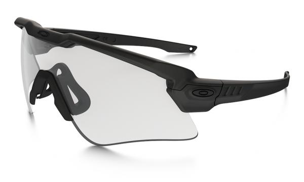 Oakley SI BALLISTIC M-FRAME ALPHA ARRAY MATTE BLACK / GREY,CLEAR Schutz- & Schießbrille
