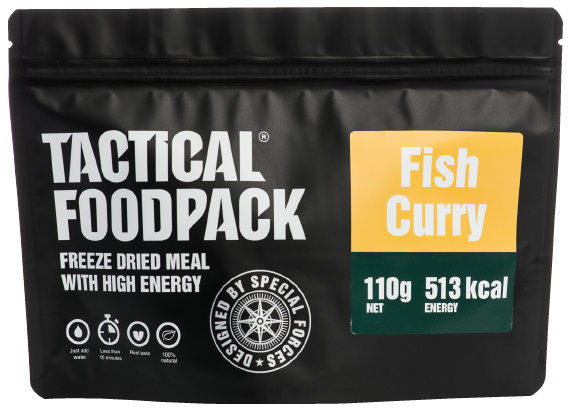 Fishcurry mit Reis