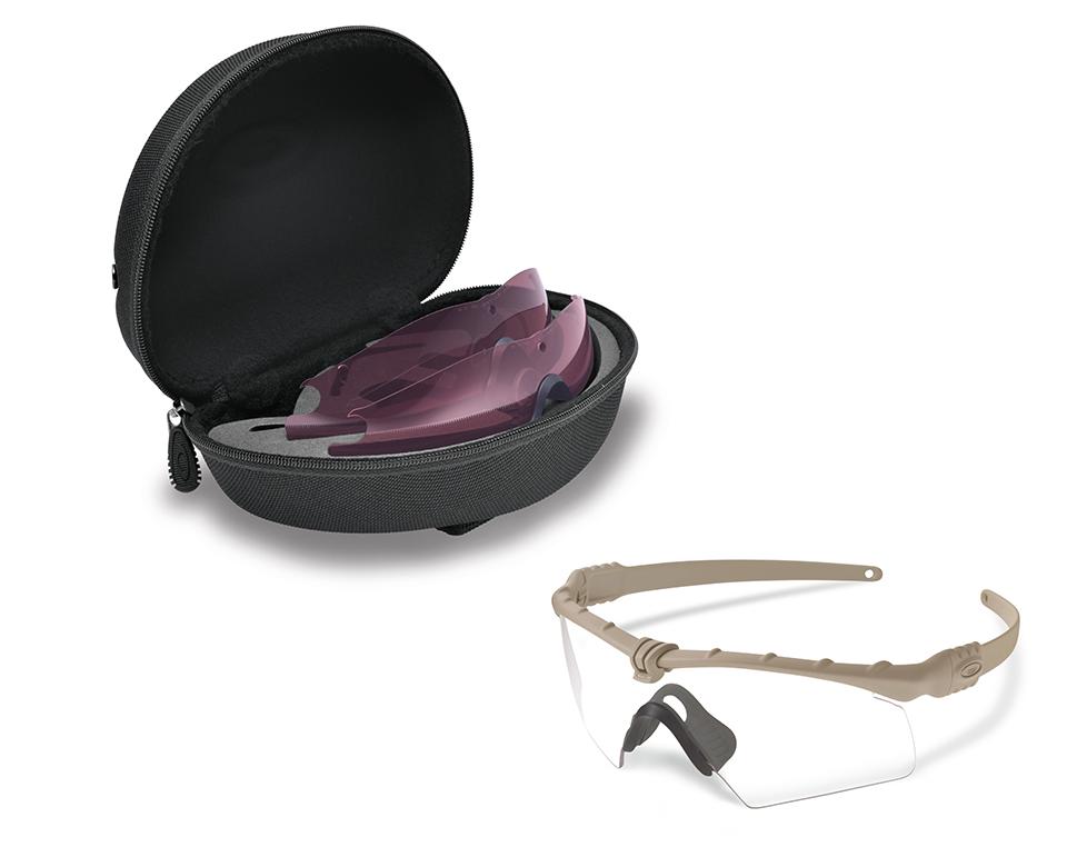 Oakley SI BALLISTIC M-FRAME 3.0 BONE / HYBRID CLEAR & PRIZM TR22 ...