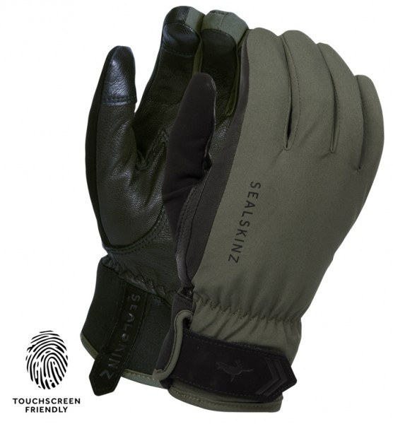 SealSkinz HANDSCHUHE ALL SEASON TOUCHSCREEN GLOVE OLIV