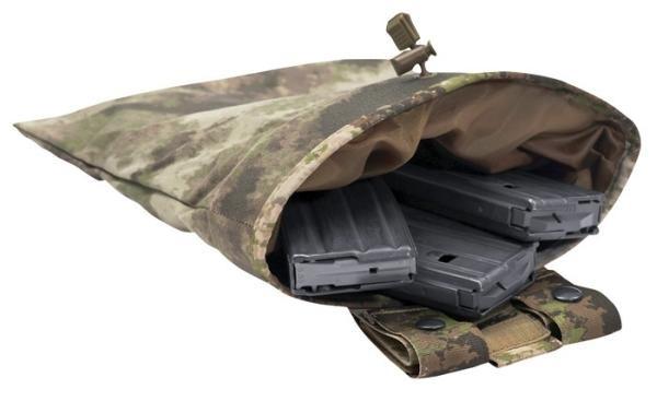Warrior Roll Up Dump Pouch A-Tacs AU