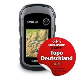 Garmin eTrex® 30 GPS-Handheld-Gerät mit 3-Achsen-Kompass
