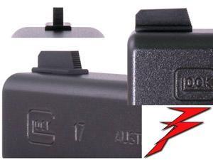 Dawson Precision Front Sight Korn Glock .205 Tall x .105 Wide bl