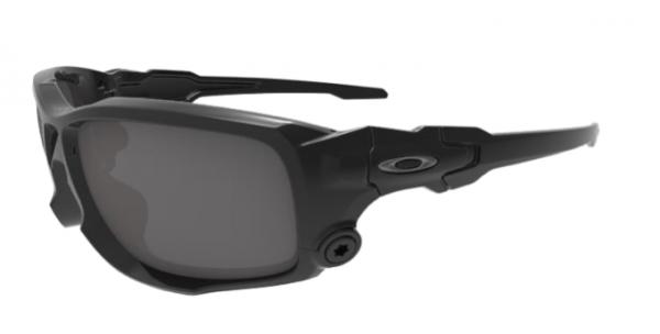 Oakley SI BALLISTIC SHOCKTUBE MATTE BLACK / GREY POLARIZED Schutz- & Schießbrille