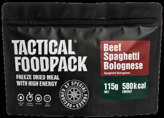 Spaghetti mit Rindfleisch in Tomatensauce