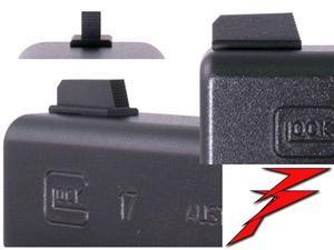 Dawson Precision Front Sight Korn Glock .285 Tall x .125 Wide bl