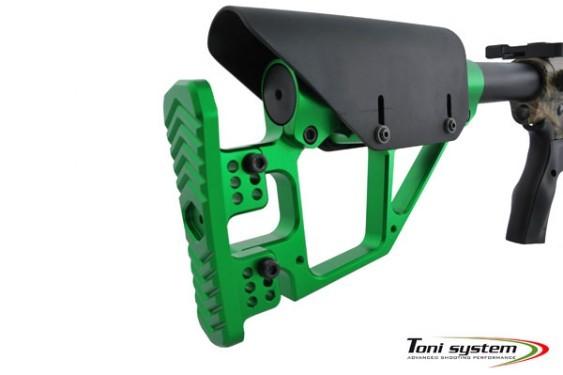 TONI System Hinterschaft mit Extra Befestigung für AR15