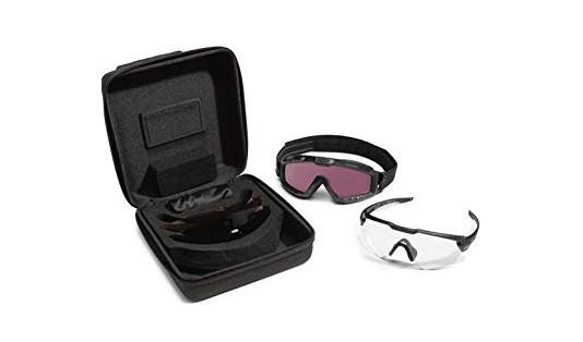 Oakley SI Ballistic M Frame ALPHA Matte Black Operator Kit Square Case EN