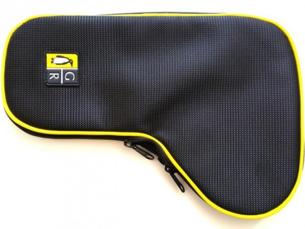 Guga Ribas Gun Cover BIG BLACK-YELLOW LEFT HAND