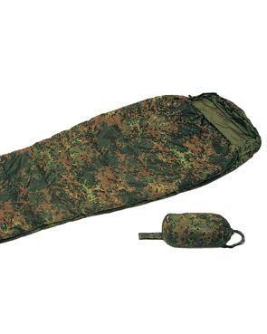 Schlafsack COMMANDO m. Packsack, flecktarn