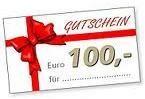 Einkaufsgutschein €100,00