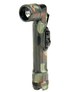 US LED Winkeltaschenlampe 2xAA