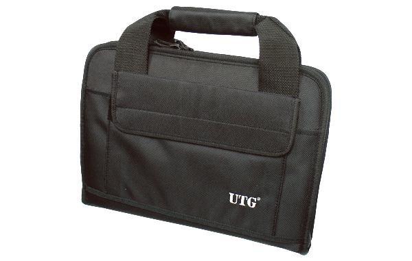 UTG Deluxe Pistolentasche zweifach, Schwarz