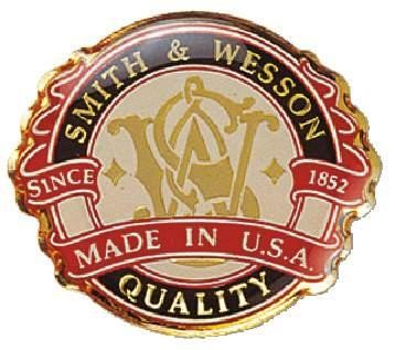 "Smith & Wesson Anstecker ""Made in USA"""