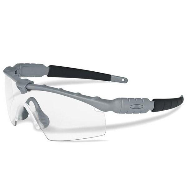 Oakley SI BALLISTIC M FRAME IP STRIKE GREY / CLEAR & GREY PHOTOCHROMIC Schutz- & Schießbrille