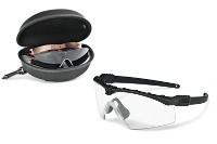 Oakley SI BALLISTIC M FRAME 3.0 ARRAY BLACK / CLEAR & GREY & PERSIMMON Schutz- & Schießbrille