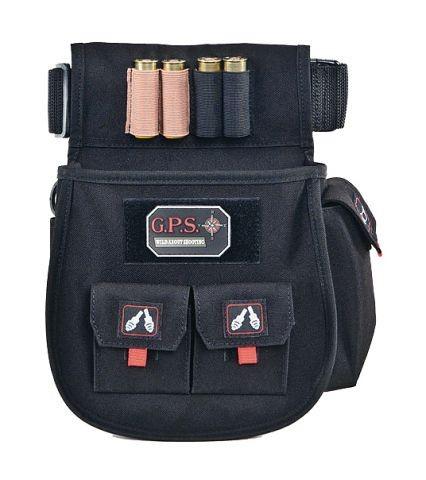 G.P.S. Deluxe Schrotpatronen Tasche schwarz