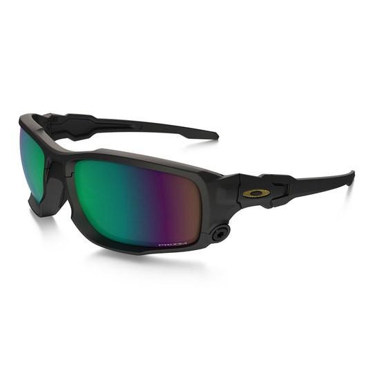 Oakley SI BALLISTIC SHOCKTUBE SATIN BLACK W/ PRIZM SHALLOW POLAR Schutz- & Schießbrille
