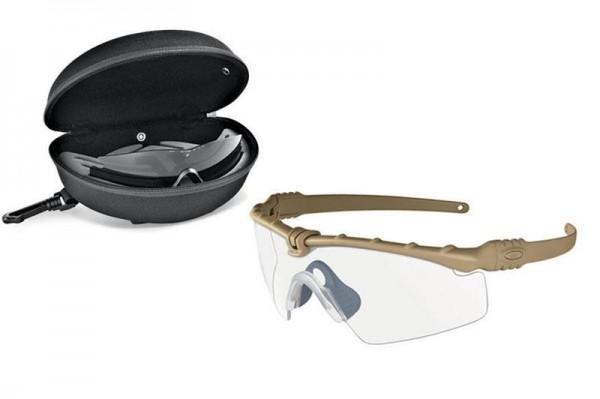 SI BALLISTIC M FRAME 3.0 ARRAY DARK BONE / CLEAR & GREY Schutz- & Schießbrille
