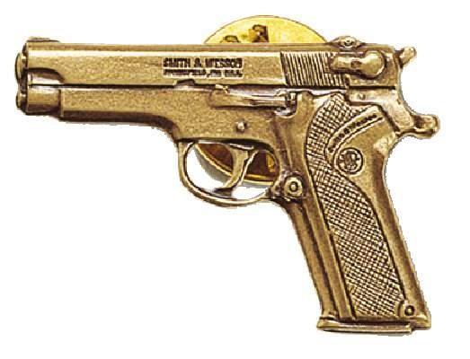"Smith & Wesson Anstecker ""S&W Pistole M910"""