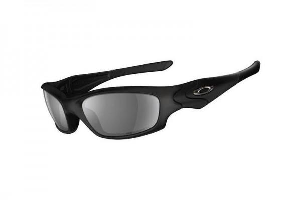 Oakley SI STRAIGHT JACKET MATTE BLACK / GREY POLARIZED Sonnenbrille