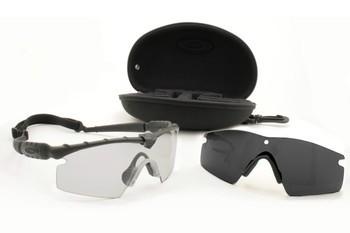 Oakley SI BALLISTIC M-FRAME 2.0 ARRAY STRIKE BLACK / GREY & CLEAR Schutz- & Schießbrille