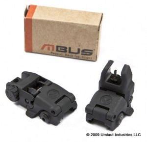 MagPul MBUS Flip-Up Sight Set