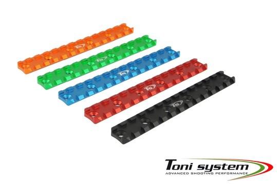 TONI System kurze 6 Löcher Picatinny Schiene - AR15