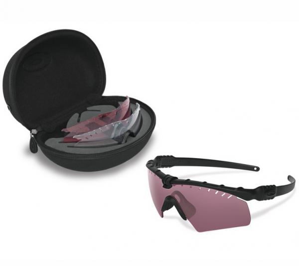 Oakley SI BALLISTIC M-FRAME 3.0 MATTE BLACK / ARRAY CLEAR & TR22 & TR45 Schutz- & Schießbrille