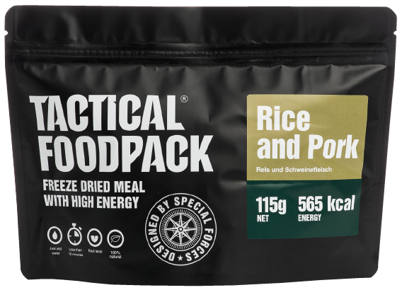 Plov Reis und Schweinefleisch