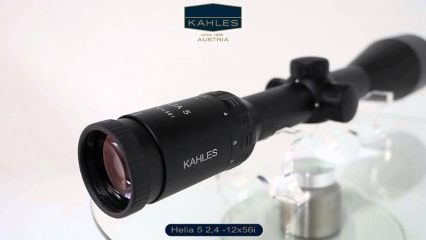 Kahles helia 2 4 12x56i visierung optik zielhilfen schießsport