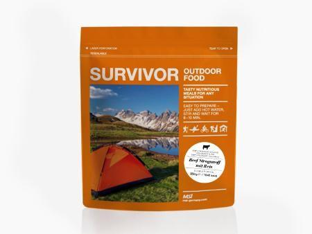 Survivor Outdoor Food - Curryhuhn mit Reis