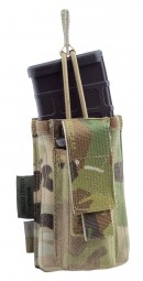 Warrior Single Open M4 & 9mm Mag Pouch
