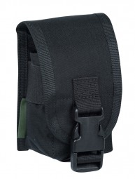 Warrior Single Smoke Pouch Black